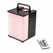 Eurolite LED Battery Uplighter RGBW 15W LED Lighting Wall Washer Mood Disco