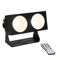 Eurolite LED CBB-2 COB Warm White Bar Flood 2 x 35W COB LED inc Remote Lighting