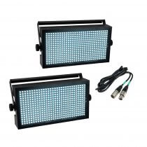 Eurolite LED Super Strobe White Bundle