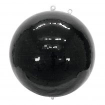 Eurolite Mirror Ball 100cm Black Mirrorball 1M Glitter Ball Decor Dancefloor DJ Club