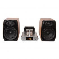 Madison Vintage Audio System 2 X 30W RMS Tube Retro USB Bluetooth HiFi Sound