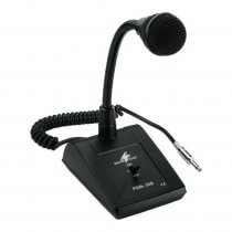Monacor PDM-300 Dynamic Desk Microphone Paging Sound System Jack Plug