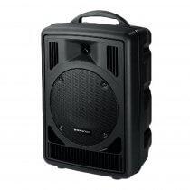 Monacor TXA-800CD Portable Battery PA System Amplifier System Sound CD Player
