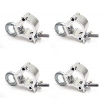 4x Duratruss Jr Eye Half Coupler Clamps (32-35mm)
