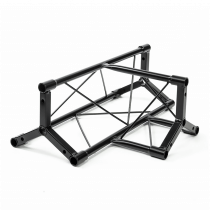 Simply Sound & Lighting RZT-2 T Piece Lighting Truss (Black)