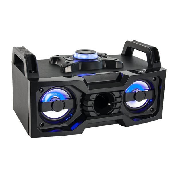 Party Light & Sound 50W Soundbox inc. USB and BT®