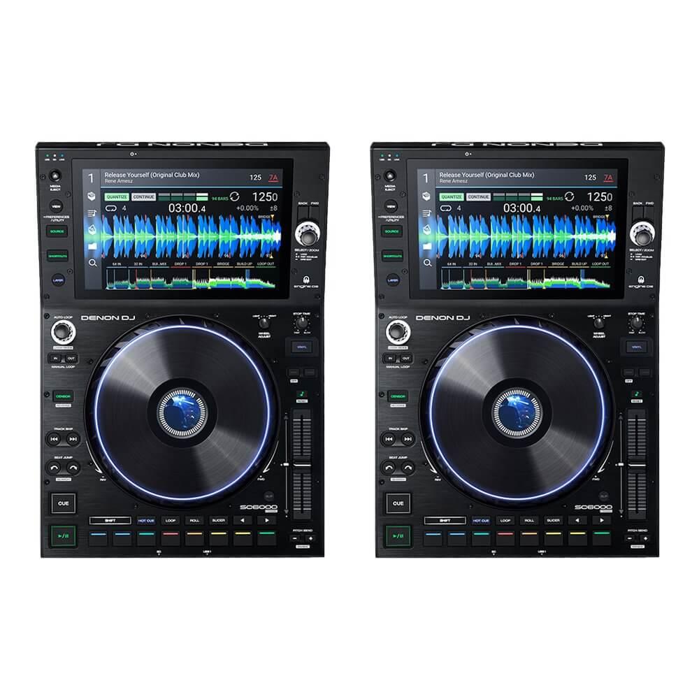 Denon DJ SC6000 Prime Media Player (Pair) *coming soon*