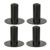 4x Thor 35MM internal top hat speaker stand adaptor pole mount