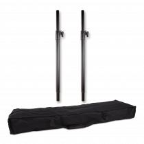 2x Thor SP001 Adjustable Speaker Poles inc Padded Bag