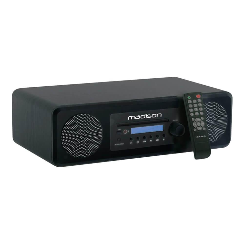 Madison Desktop HIFI Sound System USB Bluetooth CD Player