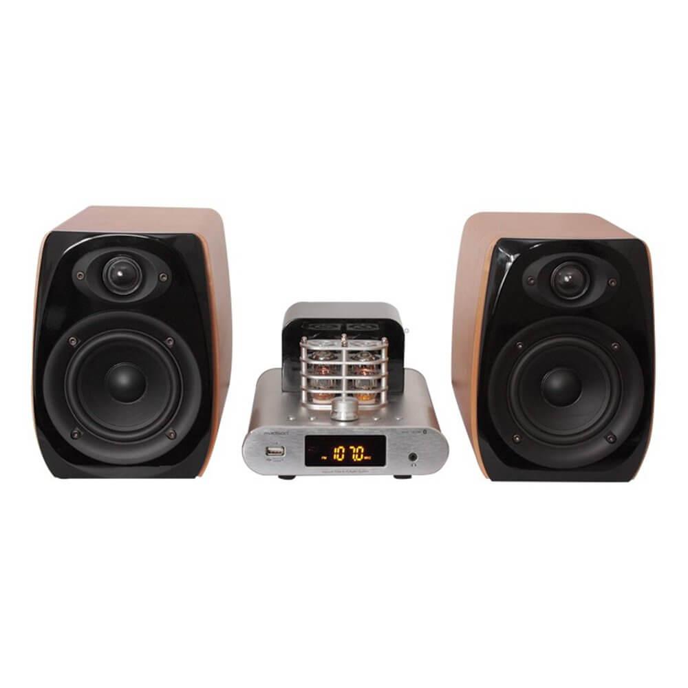 Madison Vintage Audio System 2 X 30W RMS Tube Retro USB Bluetooth HiFi Sound