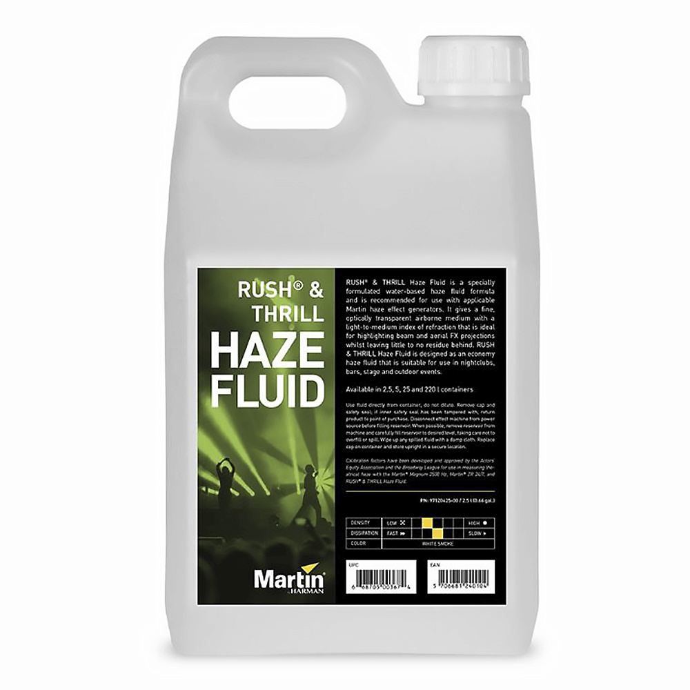 Martin Rush & Thrill Haze Fluid (2.5L)