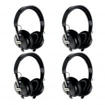 4x Behringer HPS5000 Studio Closed Type High Performance Headphones