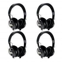 4x Behringer HPS5000 Studio Closed Type High Performance Headphones