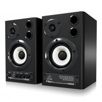 Behringer MS20 Two-Way Active Studio Monitor Pair DJ Monitor Speaker