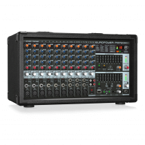 Behringer Europower PMP2000D Powered Mixer 2000W FX 14 Channel Band PA System