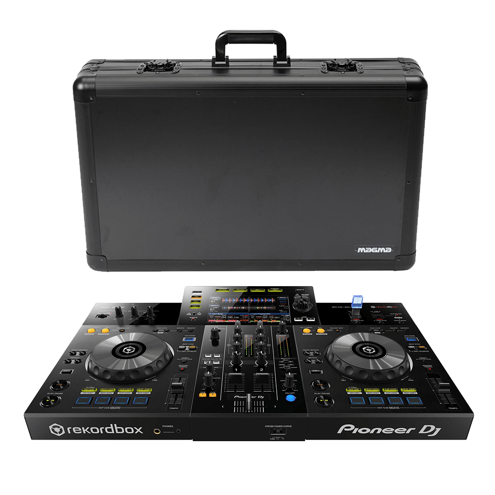 Pioneer XDJRR All in One 2 Channel 2 Deck DJ System for rekordbox Plus Magma Carry Case