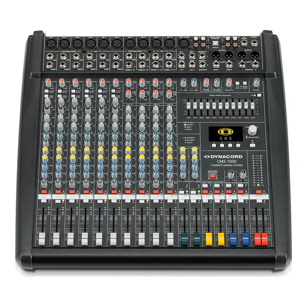 Dynacord CMS1000-3 Mixer Mixing Desk PA System Studio Band