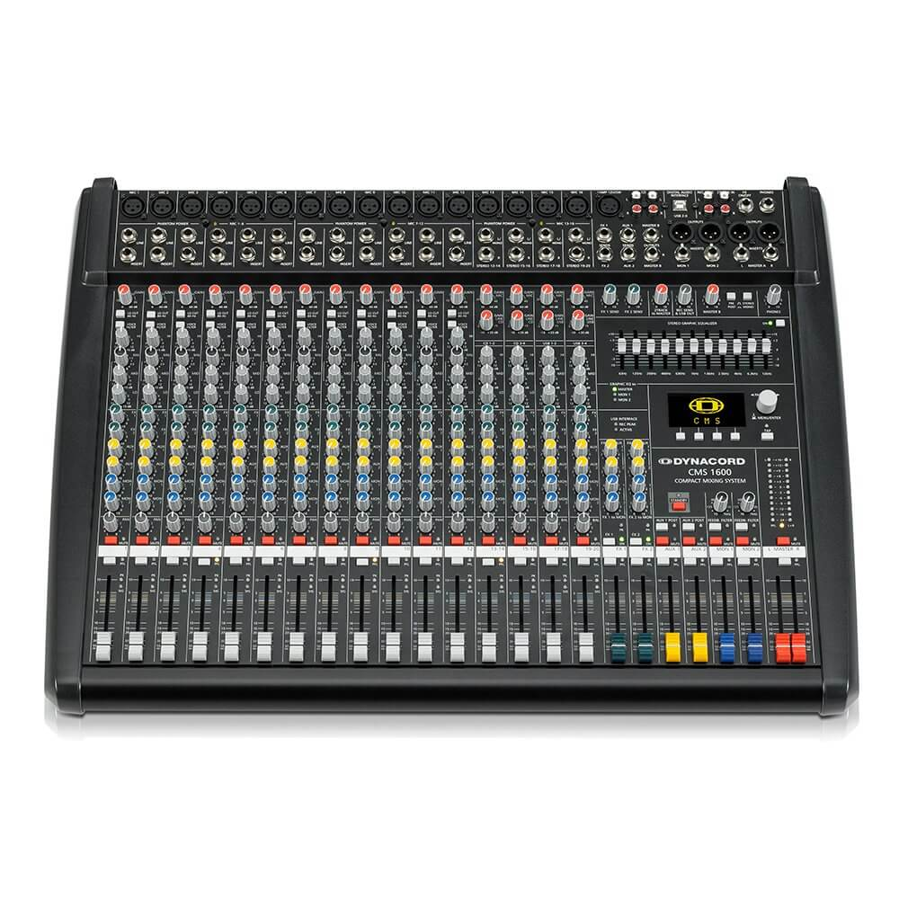 Dynacord CMS1600-3 Mixer Mixing Desk PA System Studio Band