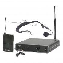 Chord NU1 Neckband Headset UHF Wireless Microphone Aerobic Zumba 864.1MHz