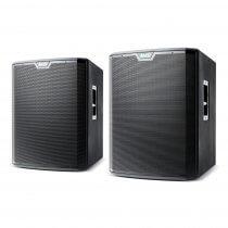 "2x Alto TS218S Active Subwoofer Bass Bin 18"" 2500W DJ Disco Sound System PA"