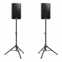 "2x Alto Professional TS210 10"" 1100w 2Way Active Speakers inc. Stands"