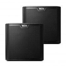 "2x Alto TS312S Active 12"" 2000W Subwoofer Bass Bin Speaker DJ Disco Sound System"
