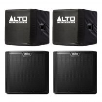 "Alto TS312S Active 12"" 4000W Subwoofer Bass Bin Speaker DJ Disco Sound System Package"