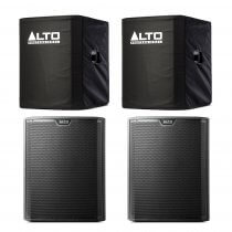 "Alto TS318S Active 18"" 4000W Subwoofer Bass Bin Speaker DJ Disco Sound System Package"