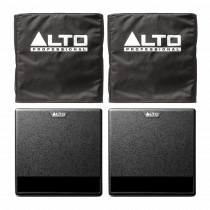 "Alto TX212S Active Subwoofer 12"" Powered Bass Bin 900W inc Covers Bundle"