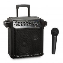 Alto Uber FX Portable Battery PA System Alesis Effects 100W Bluetooth inc Wired Microphone