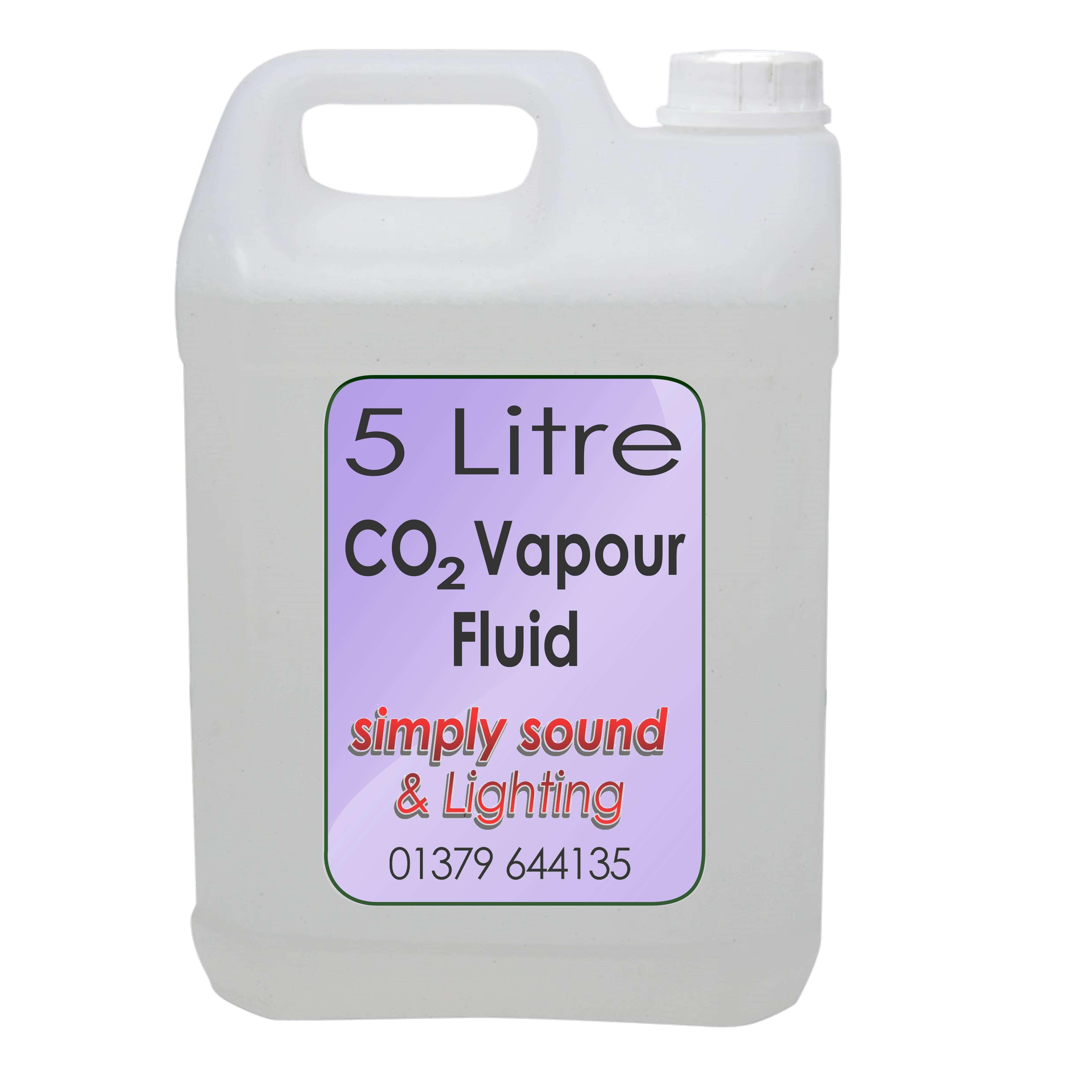 Simply Sound & Lighting 5L Vapour CO2 Effect Fluid