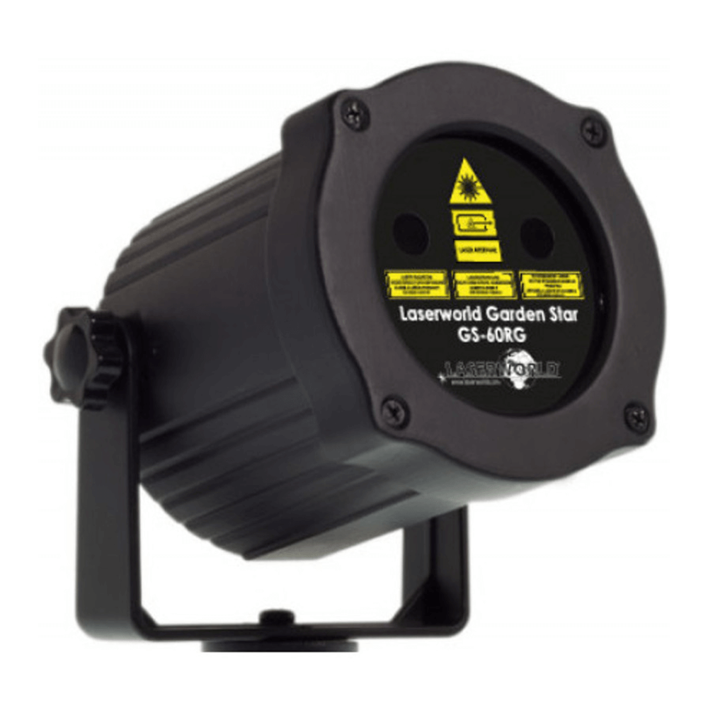 Laserworld GS-60RG Waterproof Outdoor Garden Red Green Laser Lighting Effect