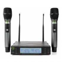 Q Audio QWM1960 Dual Handheld Wireless Microphone System CH38