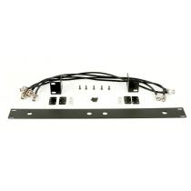"Q-Audio QWM RK 1960 V2 HH BP Dual Rack Mount Kit 1U 19"" Bracket Adaptor"