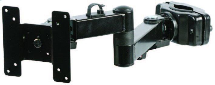 Pulse LCD Long Reach Dual Arm TFT LCD Screen Mount