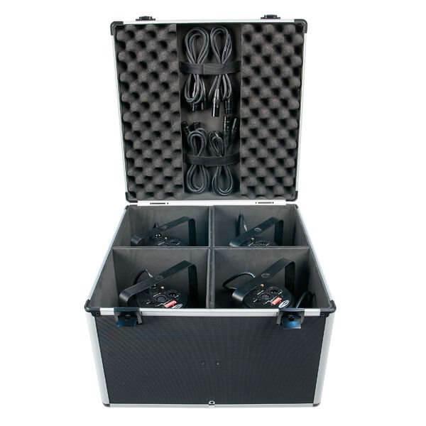LED PAR 56 LCA Flightcase Flight Case Suitable for all makes of Par Cans Travel