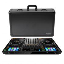 Pioneer DDJ1000 4Ch DJ Controller with FX for rekordbox DJ Software Plus Odyssey Hard Case