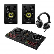 Pioneer DDJ200 Smart DJ Controller With Monitor And Headphone Bundle