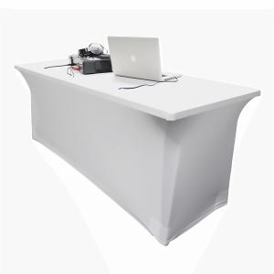 LEDJ 6ft White Lycra Table Scrim