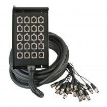 Pulse 20 Way 16/4 XLR Multicore Stage Box (15m)
