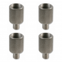 "4x Pulse Microphone Thread Adapters (5/8""F to 3/8""M)"