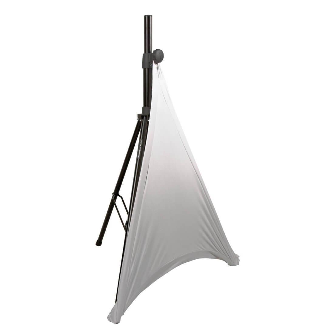 American Audio Tripod Speaker Stand Cover White
