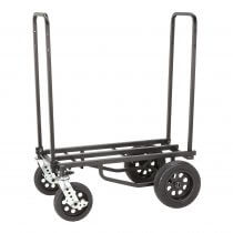 RocknRoller R12Stealth Multi Cart All Terrain Stealth Black DJ Disco Transport Trolley