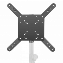 Gravity SA VESA 1 35 mm Pole Mount LCD TV Monitor Bracket with 7 VESA Hole Patterns