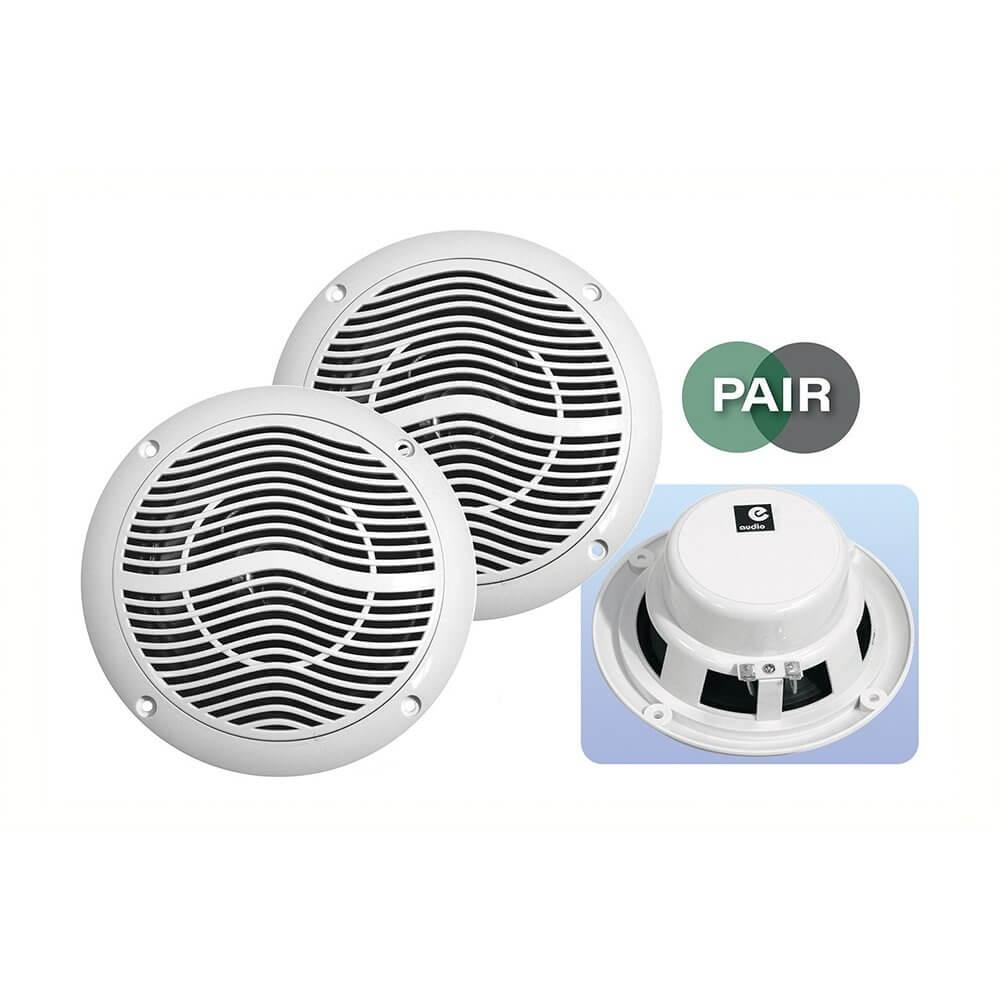 "E Audio Round Ceiling Speaker 5"" Moisture Resistant  'Sold as Pair'"