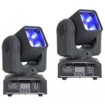 2x Ibiza Light LMH410Z Zoom Beam Moving Head