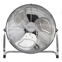 """Pro Elec High Velocity Floor Fan Metal 18"""" Chrome Cooling Electric 3 Speed Setting"""