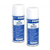 2x Pro Power Air Duster 400ml for Computer Electronic Equipment Dust Dirt Remover