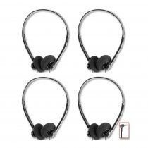 4x Pro Signal Stereo Headphones with 1.8m Lead